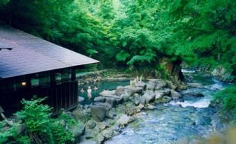 bain onsen Rotenburo